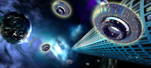 The Galactic Mothership New Jerusalem